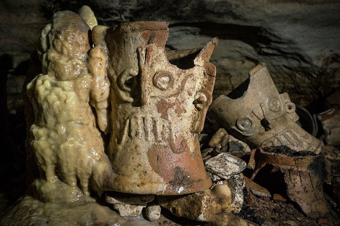 Archaeologists Open Lost Cave Full of Mayan Treasures