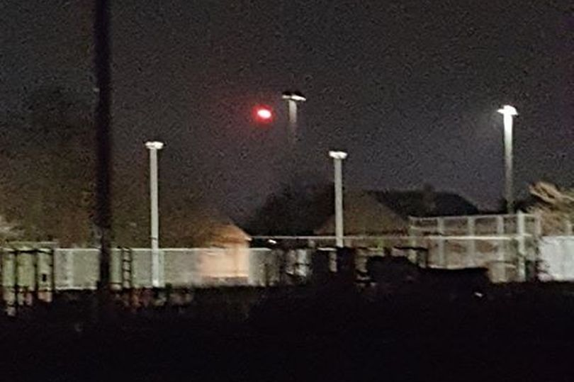 Red Orb 'UFO' Spotted by Two Women in Hull, UK