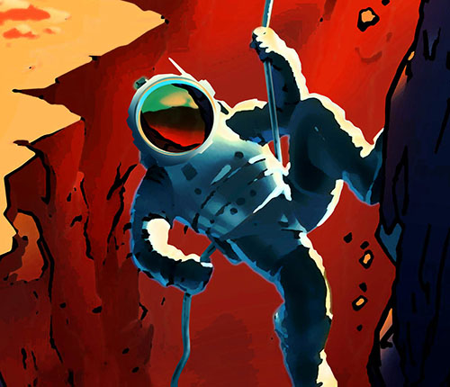 NASA's Retro Posters Invite Red Planet Recruits