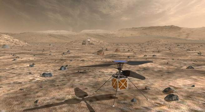 Tiny Helicopter Probe to Be Included in 2020 Mars Lander