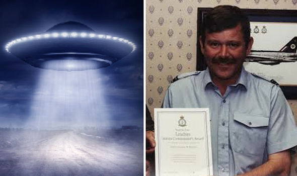 Former RAF Lieutenant Claims 'UFO' Was Detected on Radar