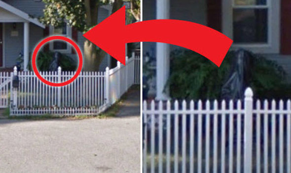 Ghostly Figure Spotted on Google Street View