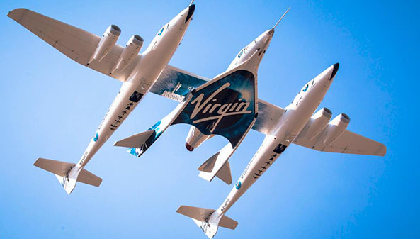 Branson Expects First Virgin Galactic Space Flight by Christmas