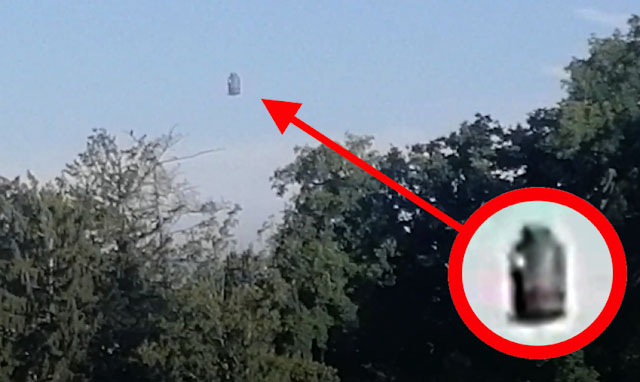 'UFO' Recorded Hovering over Trees in Switzerland?