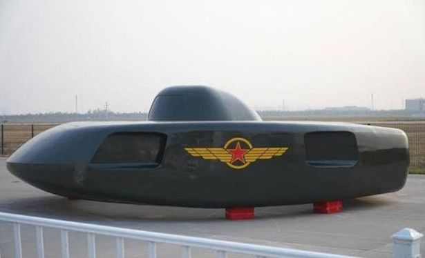UFO-like Helicopter Unveiled at Airshow in China