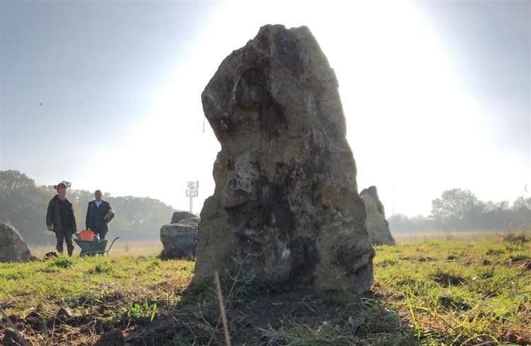 New Stone Circle Erected in England as 'Symbol of Permanence'