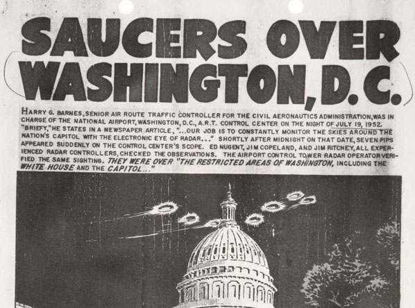 New Exhibit at US National Archives Explores UFO Documents