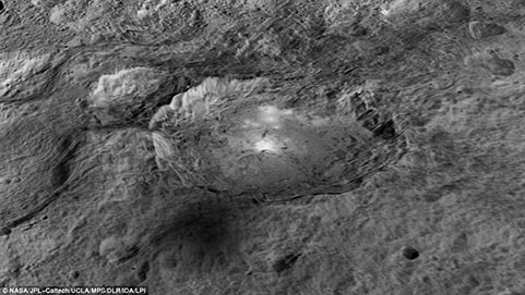 Mysterious 'Alien Spots' on Ceres Are NOT Ice, Say Scientists