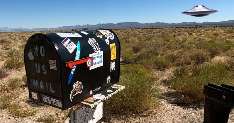 Iconic Ranch Bordering Area 51 and Its Black Mailbox up for Sale