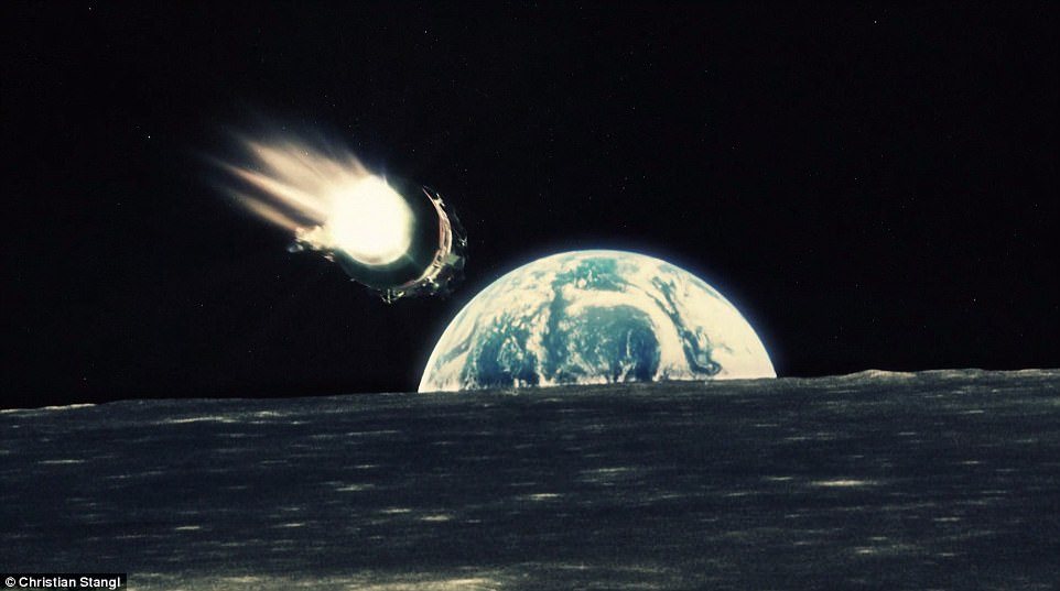 Film Animates Thousands of Images to Recreate Apollo Missions
