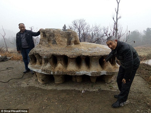 Natural or Man-Made? Chinese 'UFO Rock' Confounds Experts