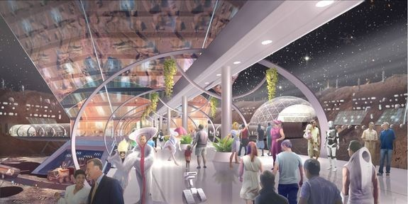 New Theme Park 'Mars World' to be Built in Las Vegas