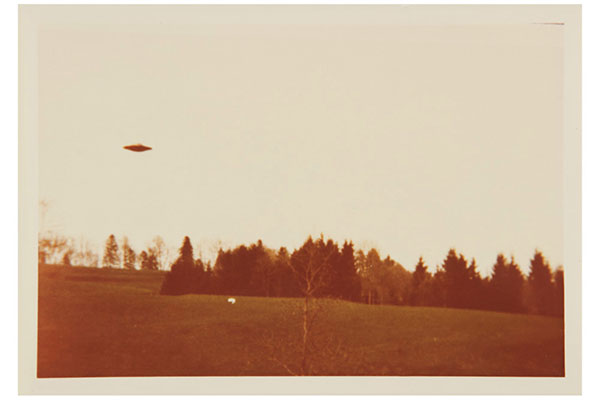 Original Billy Meier UFO Photo Prints Go up for Auction