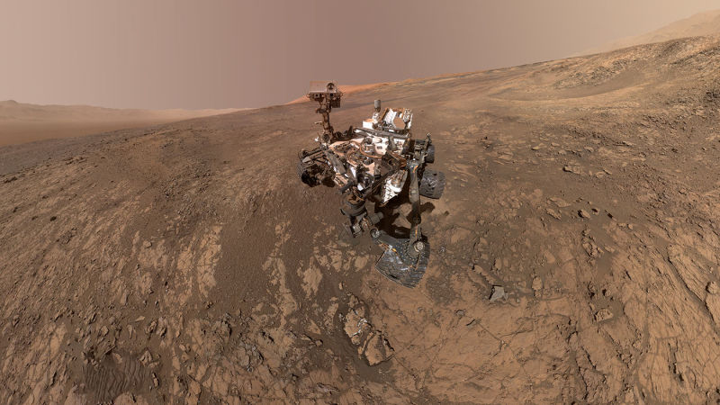 Rover Finds Organic Compounds and Strange Methane on Mars