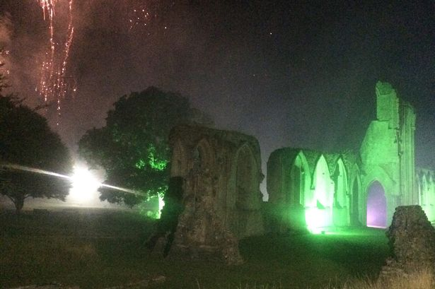 'Ghost Monk' Appears in Photo of Glastonbury Abbey