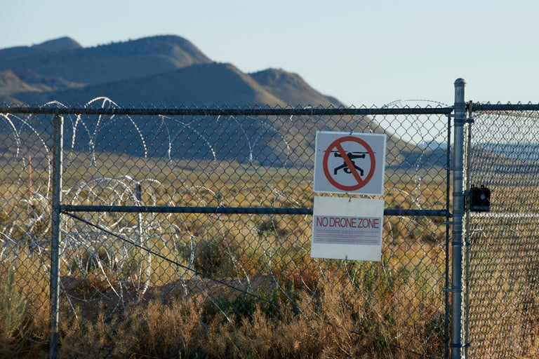 Airspace Around Area 51 Closed Ahead of 'Alien Raid' Event