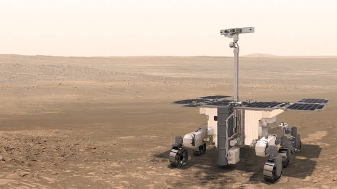 Approval Granted for Mars Rover That Will Hunt for ET Life
