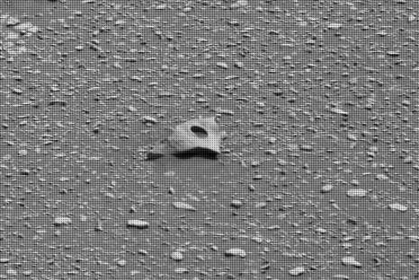 Strange 'Artefact' Photographed on the Surface of Mars
