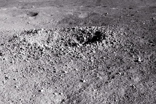 China's Lunar Rover Finds 'Gel-Like' Substance on the Moon