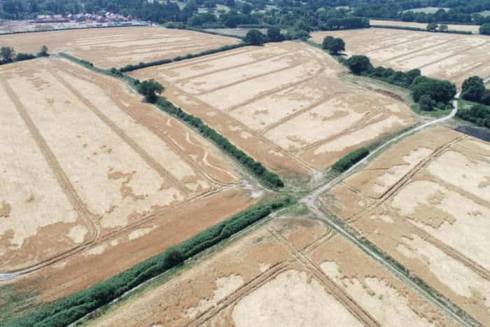 Mystery Surrounds Inexplicable New Crop Markings
