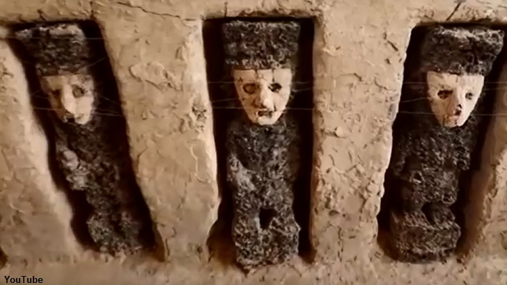 Eerie Ancient Statues Found in Peru