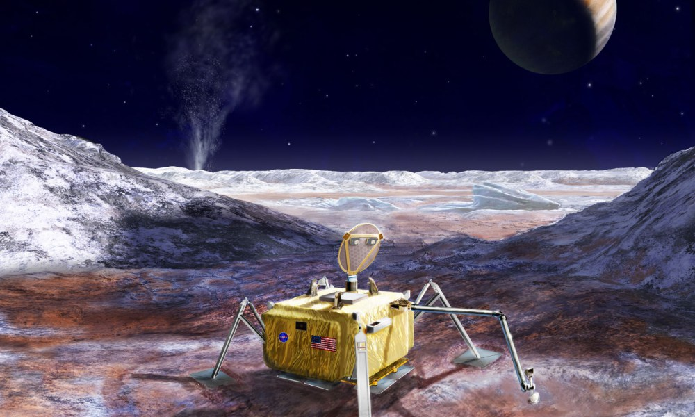 NASA Reveal Plans to Drill for Life on Jupiter's Icy Moon Europa