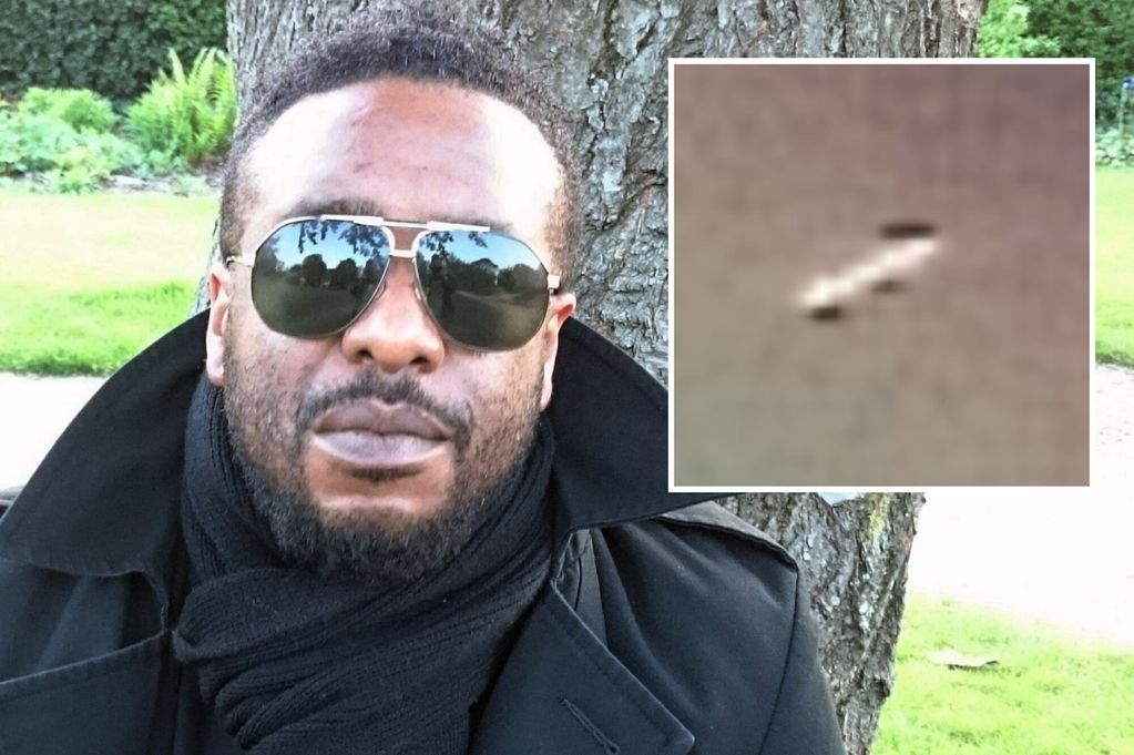 Marvin Gaye Impersonator Spots UFO Over Birmingham