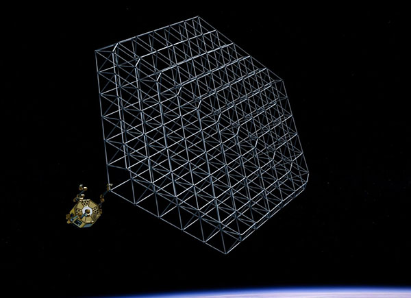 Company Aims to 3D Print Satellites and Spaceships in Orbit
